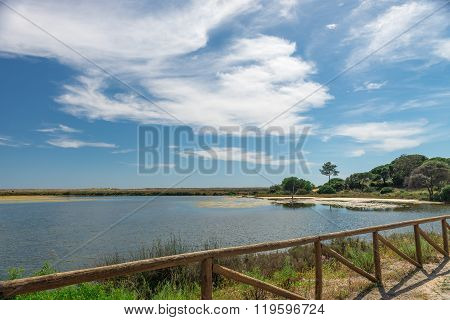 Quinta Do Lago Landscape, In Algarve, Portugal