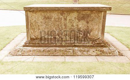 A Tomb Vintage