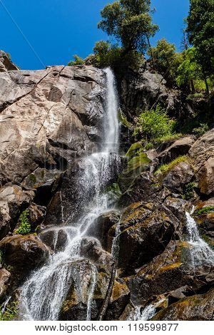 Grizzly Falls, Sequoia National Forest, California, Usa