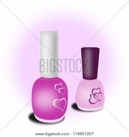 Pink Nail Polish