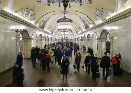 Beautiful Subway Interior