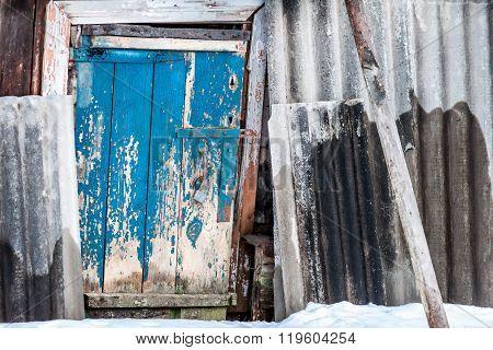 Door In The Plank Fence