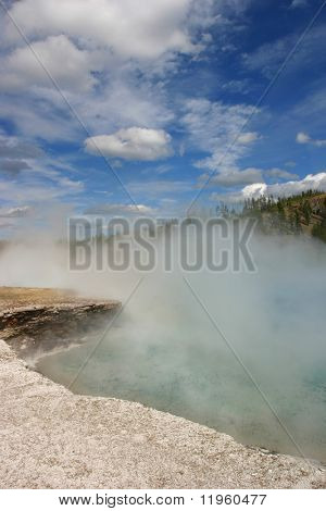 Yellowstone Geyser Thermal Feature