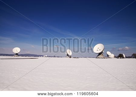Satellite Earth Station Raisting