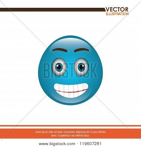 funny emoticon design