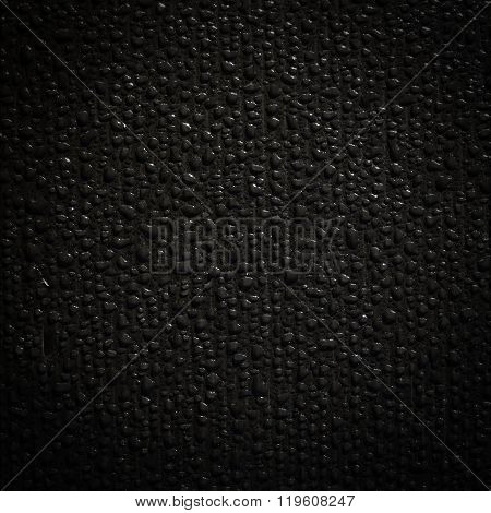 Wet Black Tarpaulin
