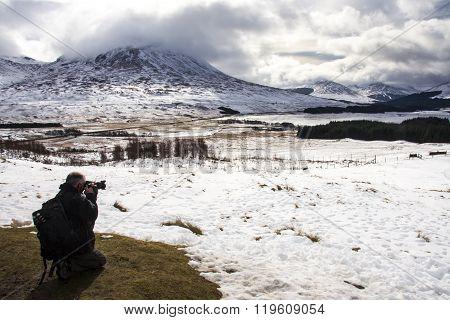 Taking Pictures Highlands Landscape