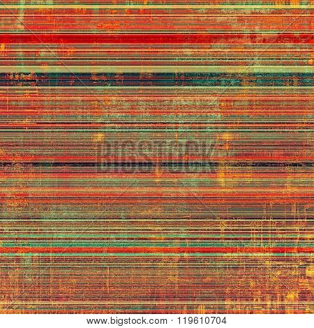 Computer designed highly detailed vintage texture or background. With different color patterns: yellow (beige); brown; green; pink; red (orange)