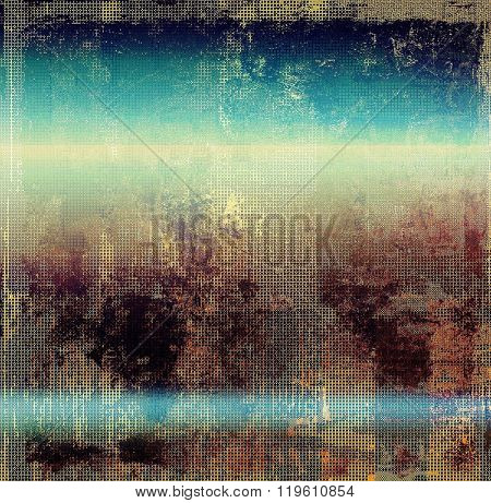 Vintage old texture for background. With different color patterns: yellow (beige); brown; blue; pink; purple (violet)