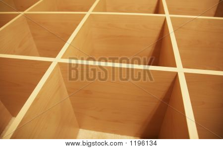 Wooden Grid Abstract 2