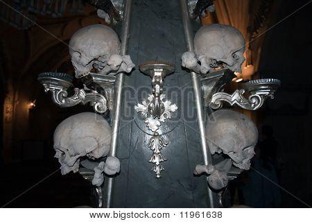 Bone Candlestick