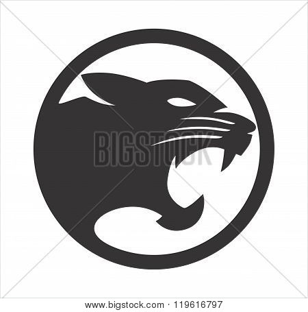 Panther Black circle