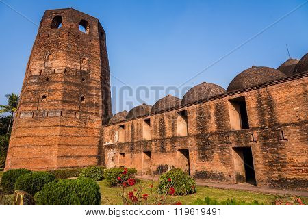 The famous Katra mosque where the tomb of the first Nawab of Bengal Murshid Quli Khan is buried in Murshidabad.