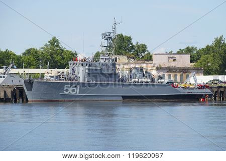 Base minesweeper BT-115 on the basis of the Navy in Kronstadt