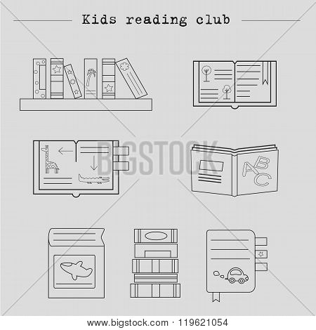 Book collection,book club,back to school,book stack, kids reading club