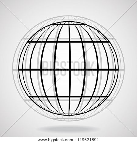 Abstract globe earth