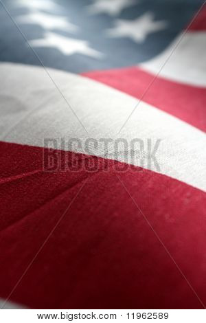 Die amerikanische Flagge Stars And Stripes