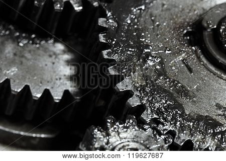 Contact Of Gear Wheels In Mechanism, Concept Of Business Partnership