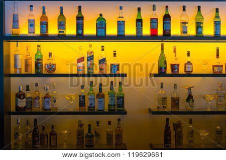 Bottles Behind The Bar