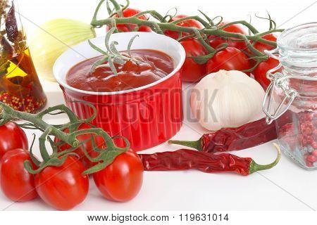 Pesto rosso tomato