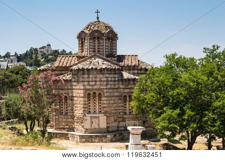 Basilica In Athens, Greece
