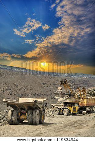 Iron Ore Opencast Mining