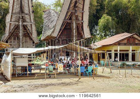 Legislative Elections Held In Lempo Village. Tana Toraja