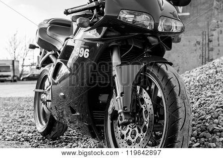 Ducati 996s motorcycle