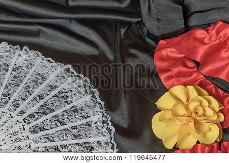 Flamenco Dress Abstract