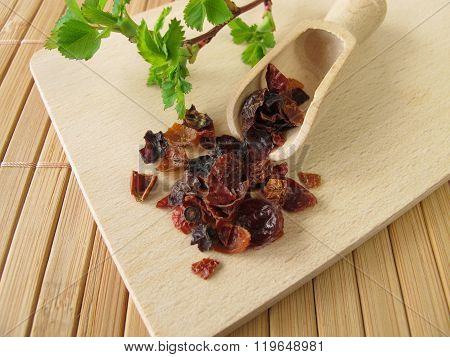 Rose hip fruits, Rosae pseudofructus
