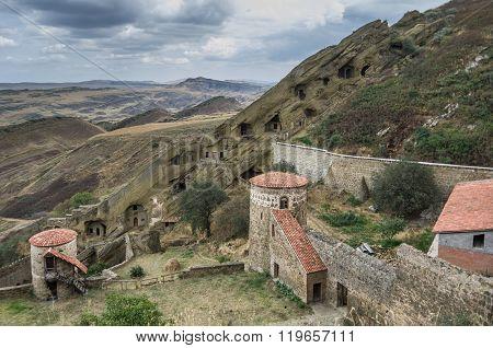David Gareja, A Rock-hewn Georgian Orthodox Monastery Complex Located In The Kakheti Region, Georgia