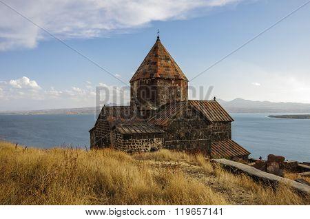 Sevanavank (sevan Monastery), A Monastic Complex Located On A Shore Of Lake Sevan In The Gegharkunik