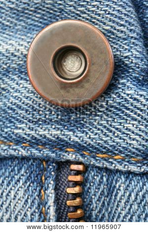 Zipper on blue jeans.  Nice for a background.