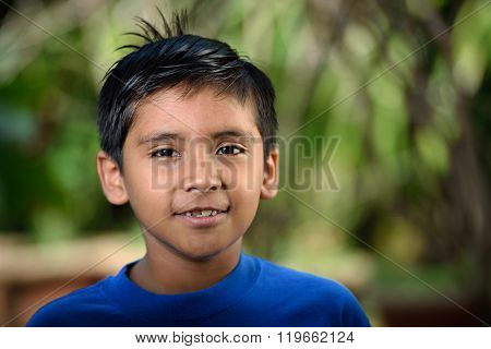 Headshot Of Latino Boy