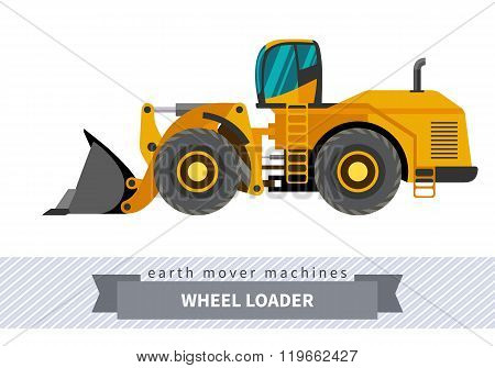 Wheel Loader For Earthwork Operations