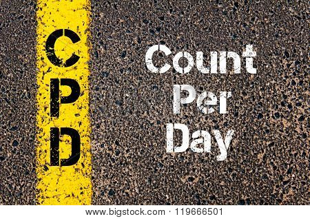 Business Acronym Cpd Count Per Day