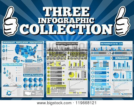 Three Infographic Collection Special Edition