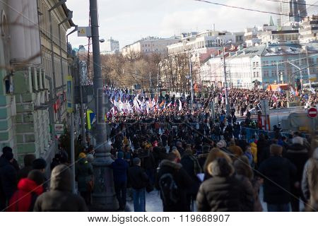 View memory Nemtsov march
