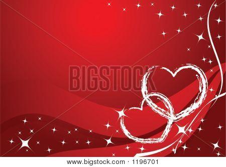 Vector Valentine Card