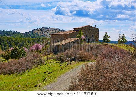 San Pedro in Teruel Sierra Albarracin of Spain