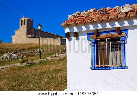 Corratxar village in Tinenca Benifassa of Spain Castellon
