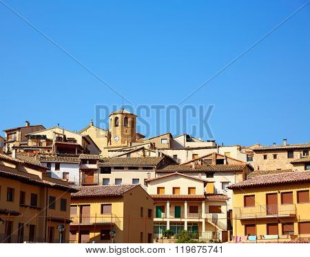 Beceite village in Teruel Spain in Matarrana area