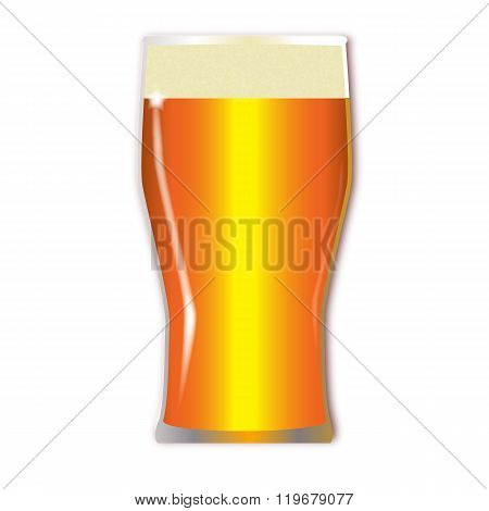 Pint Lager Glass
