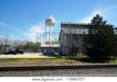 Plainfield Water Tower