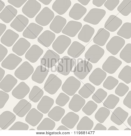 Seamless grey vector pattern with paving stone