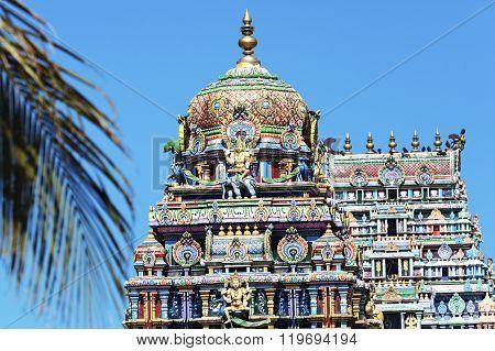 Sri Siva Subramaniya Swami Hindu Temple in Nadi Fiji ** Note: Soft Focus at 100%, best at smaller sizes