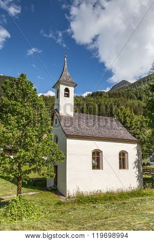 Small Chapel In South Tyrol