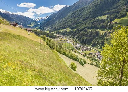 The Mountain Village Of St. Jakob
