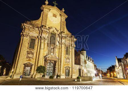 Church Of Saints Peter And Paul On Veemarkt In Mechelen