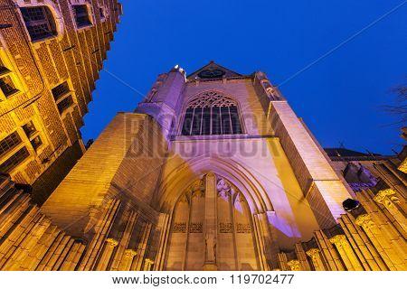 St. Peter's Church. Leuven Flemish Region Belgium. ** Note: Visible grain at 100%, best at smaller sizes